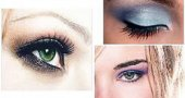 Макияж для зеленых глаз брюнеток и блондинок.