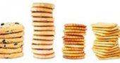 Калорийность печенья. Калории в 1 печенье овсяном, галетном, песочном, слоеном.