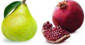Калорийность граната и груши. Это калорийные фрукты?
