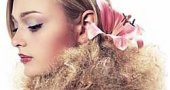 Макияж глаз для русых волос.