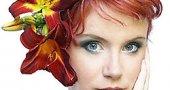 Макияж для волос. Русых, темных, светлых, рыжих, черных, каштановых.