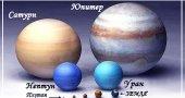 Интересное о планетах гигантах. Интересные факты о больших планетах.