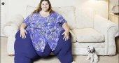Самая полная, очень толстая женщина в мире. Фото.