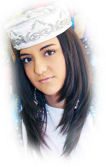 Азербайджанская девушка.