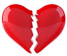 Расколотое сердце