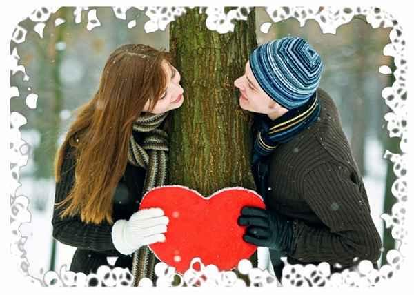 Мы влюбились зимой