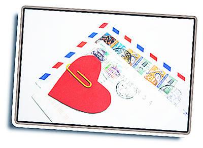 Напиши письмо любимому.