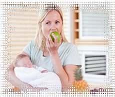Рацион здорового питания кормящей грудью матери