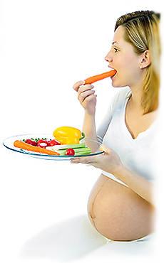 Питание беременной женщины.