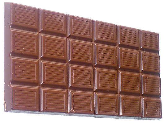 Калории в шоколаде.