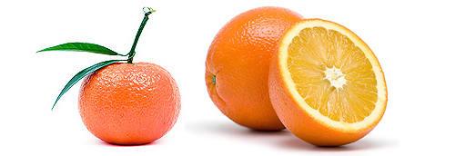 Мандарин и Апельсин.