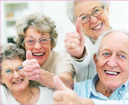 Питание пожилых людей.