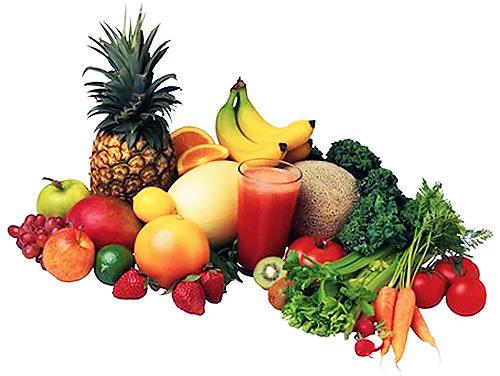 Полезные продукты питания.