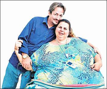 Полин Поттер и ее муж.