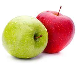 2 яблочка