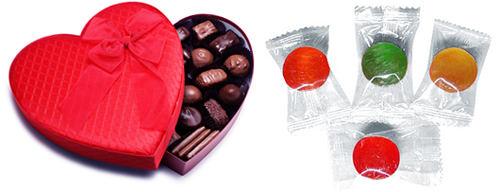 Калорийность конфет.
