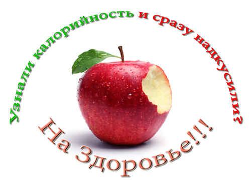 Яблоко укусили
