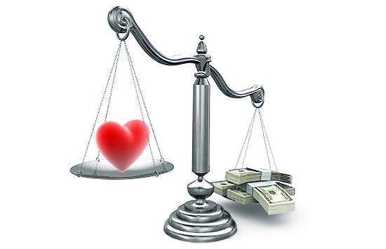 Любовь за деньги и ради денег можно ли