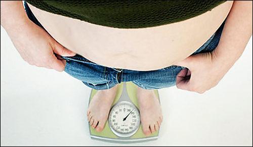 Ожирение третьей степени.