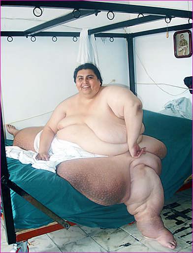Самый толстый человек.