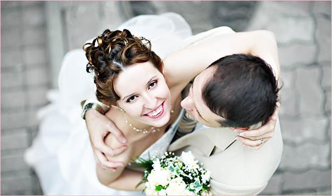 Мужчина женится с удовольствием.