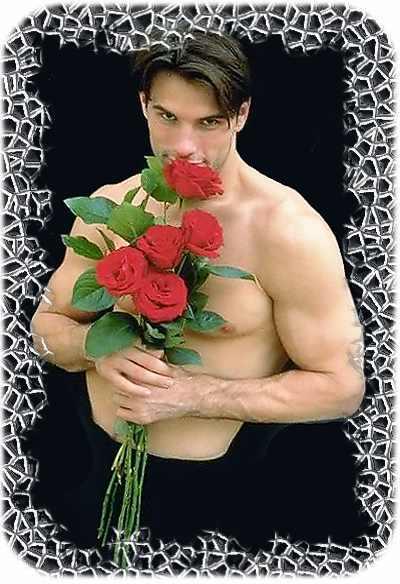 Цветы мужчин.
