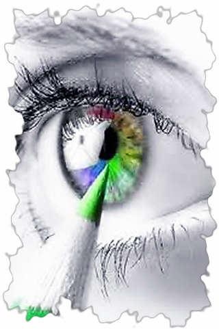 Цвет глаз.