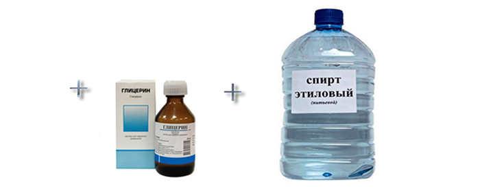 Ингредиенты для клея