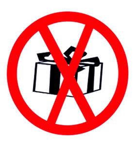 Подарки, которые дарить нельзя.