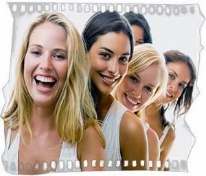 Женщины полные позитива