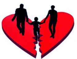 Дети в разрыве брака