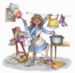 Большие обязанности жены