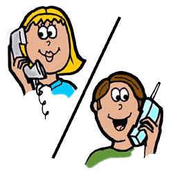 разговор по телефону знакомства примеры