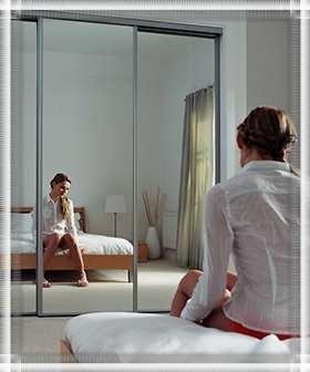 Мое зеркало напротив кровати