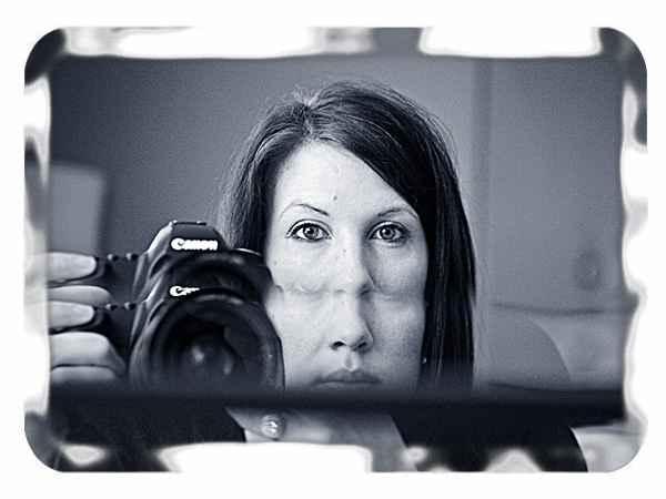 Фото фотографа в зеркале