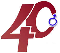 40 лет мужчине не отмечают: