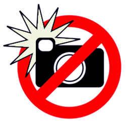 Фотографирование запрещено