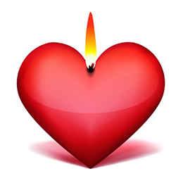 Сердечная свеча