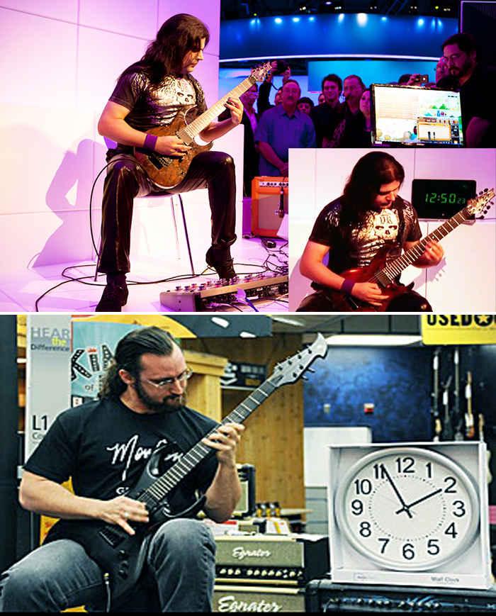 Скоростной гитарист