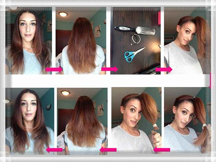 Как подстричь кончики волос в домашних условиях
